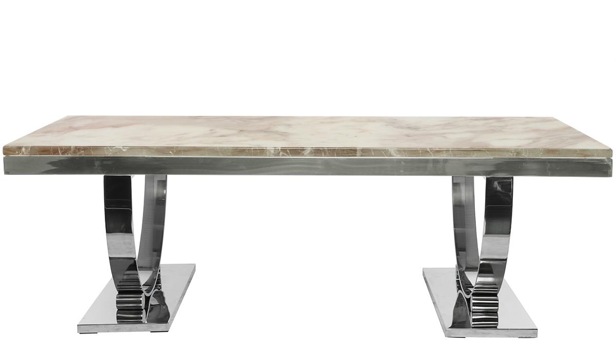 Купить Журнальный стол Ospite Белый в интернет магазине дизайнерской мебели и аксессуаров для дома и дачи