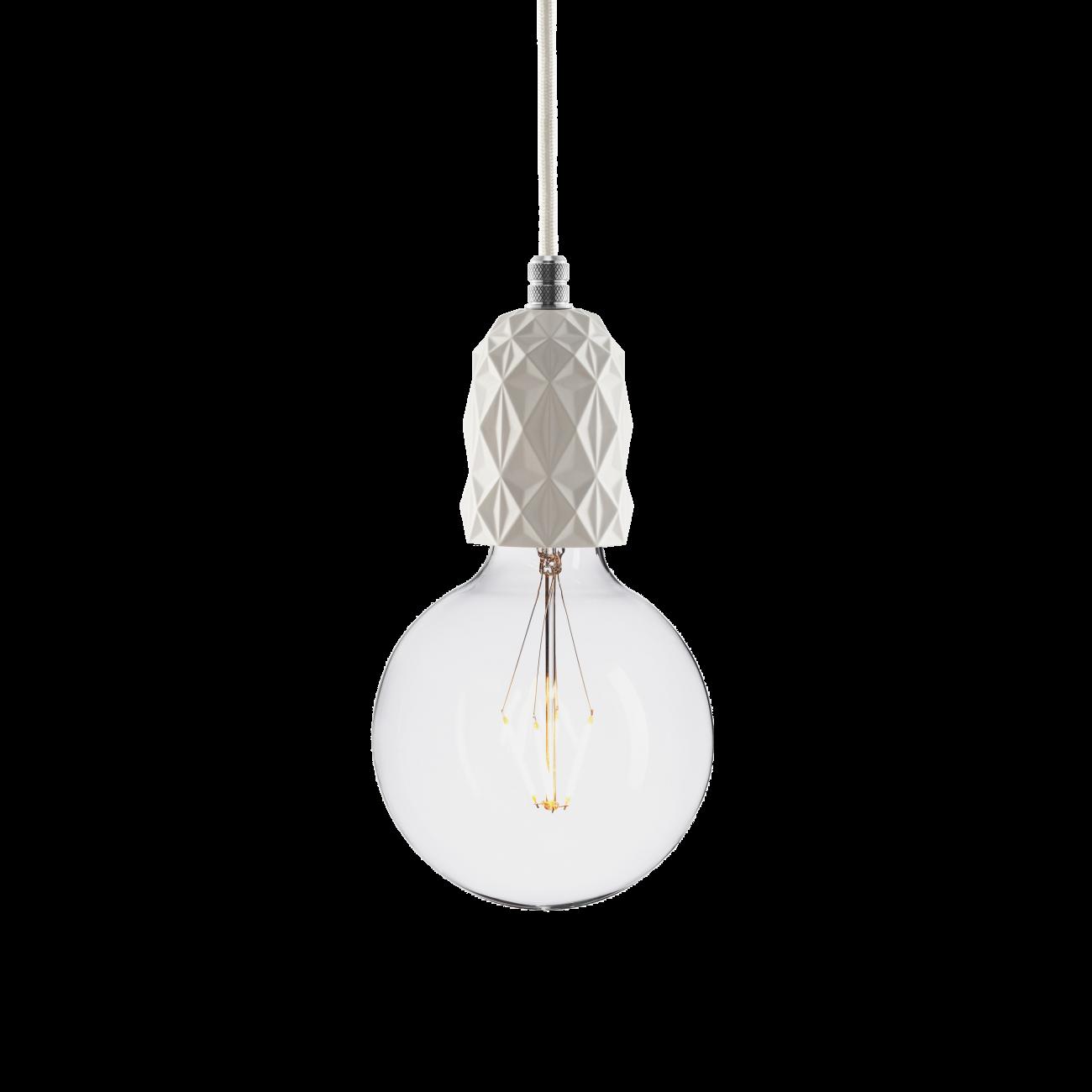 Купить Подвесной светильник BETON AIR WHITE ALUMINUM в интернет магазине дизайнерской мебели и аксессуаров для дома и дачи