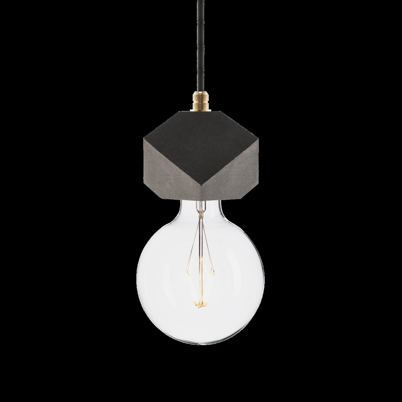 Купить Подвесной светильник BETON MAKT BLACK ALUMINUM в интернет магазине дизайнерской мебели и аксессуаров для дома и дачи