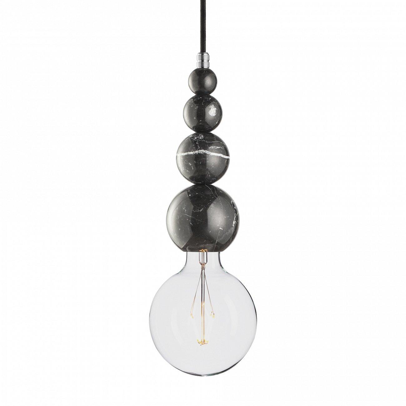 Купить Подвесной светильник MARMOR SLIPP NERO ALUMINUM в интернет магазине дизайнерской мебели и аксессуаров для дома и дачи