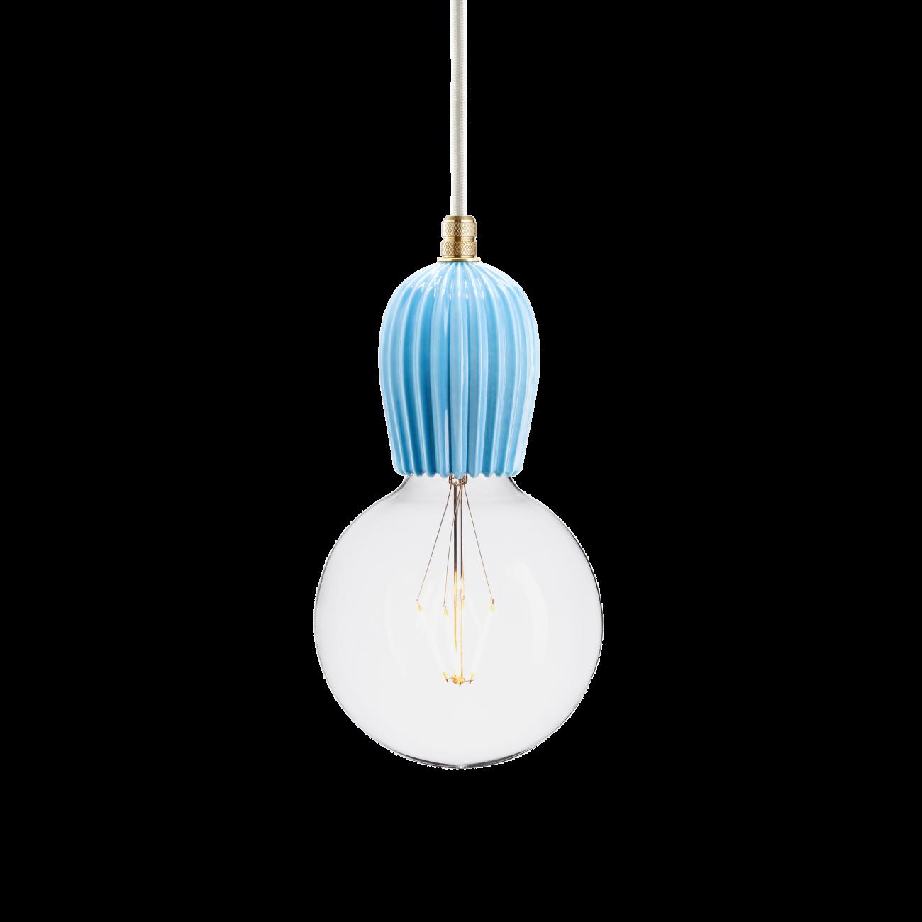 Купить Подвесной светильник KERAMIK RIB BLAR BRASS в интернет магазине дизайнерской мебели и аксессуаров для дома и дачи