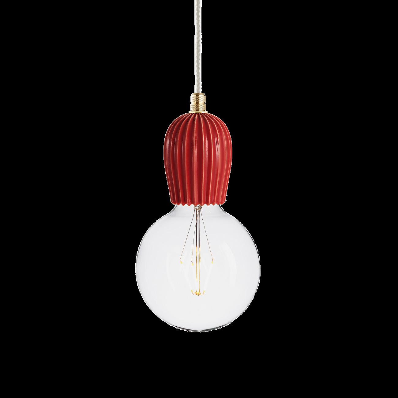 Купить Подвесной светильник KERAMIK RIB KORAL BRASS в интернет магазине дизайнерской мебели и аксессуаров для дома и дачи