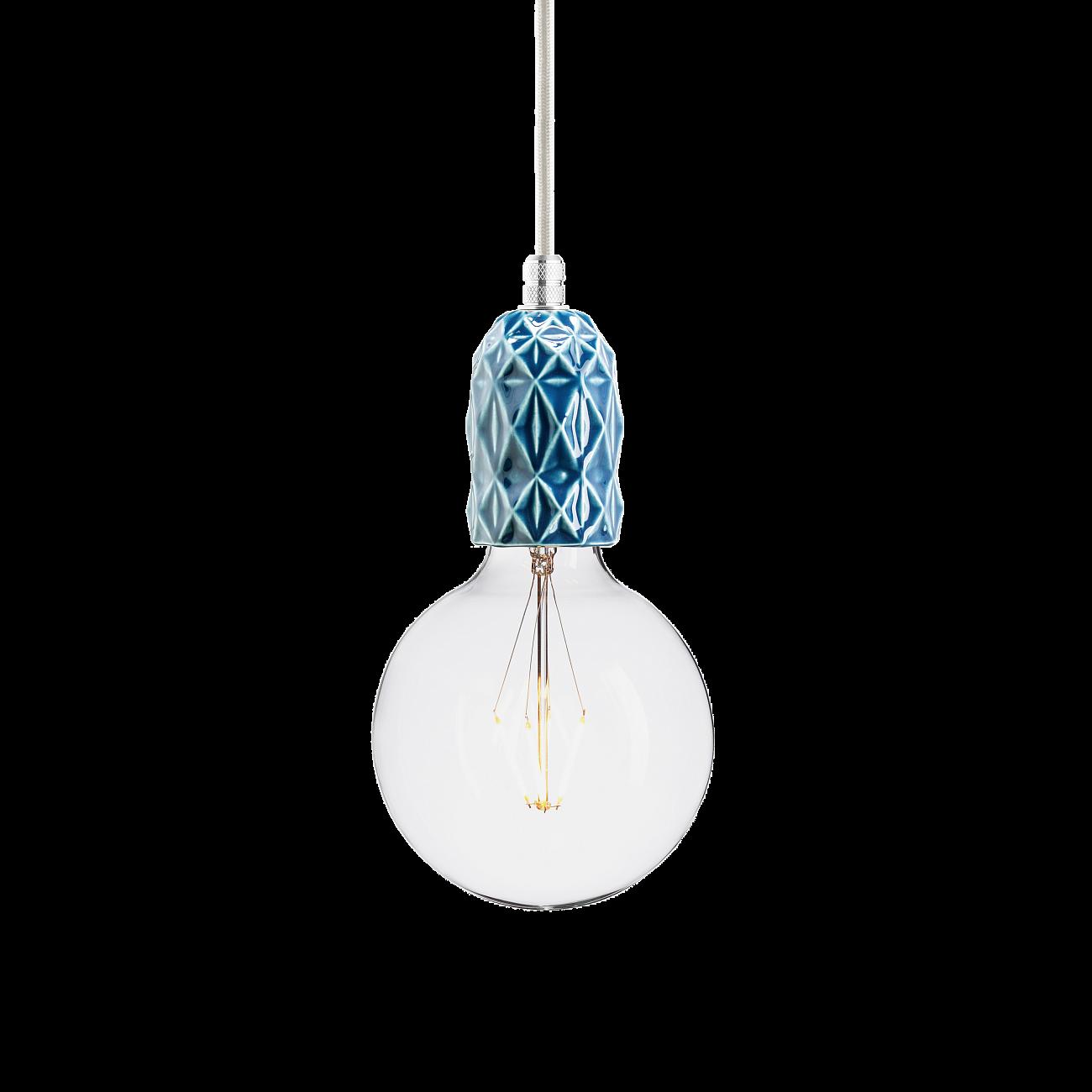 Купить Подвесной светильник KERAMIK AIR INDIGO ALUMINUM в интернет магазине дизайнерской мебели и аксессуаров для дома и дачи