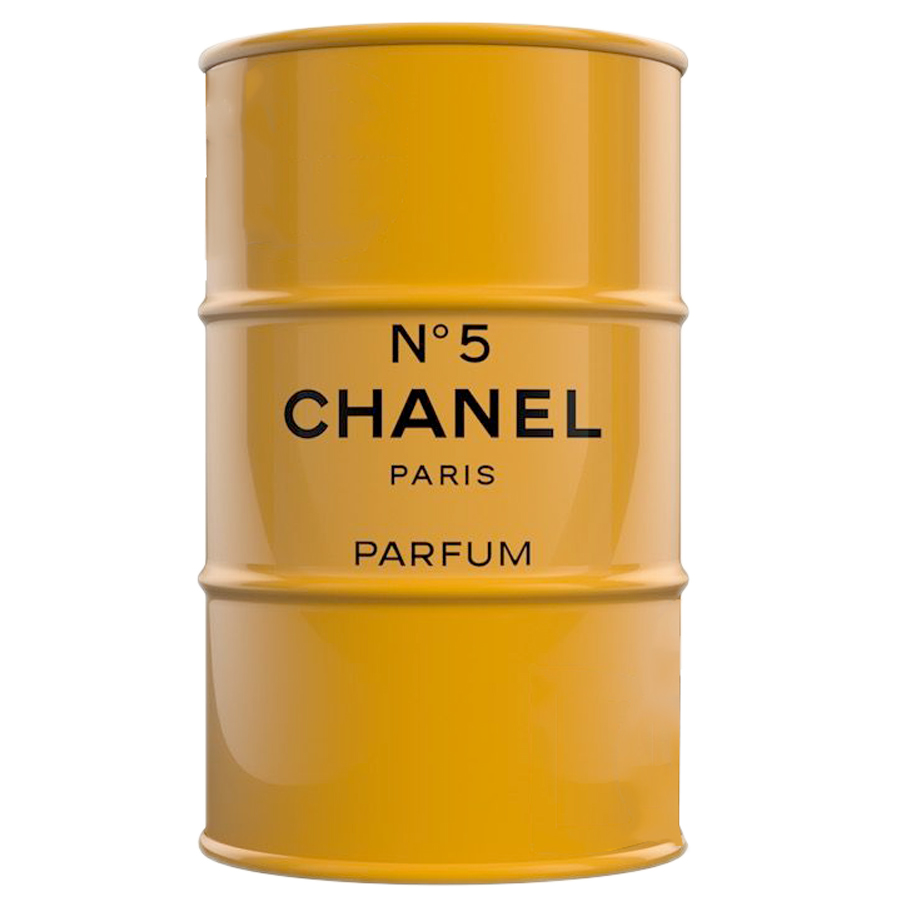 Купить Декоративная Бочка Chanel №5 Yellow L в интернет магазине дизайнерской мебели и аксессуаров для дома и дачи