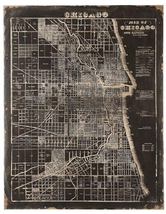 Купить Карта Chicago DA0500 в интернет магазине дизайнерской мебели и аксессуаров для дома и дачи