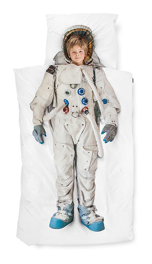 Купить Постельное белье Астронавт (150*200) в интернет магазине дизайнерской мебели и аксессуаров для дома и дачи