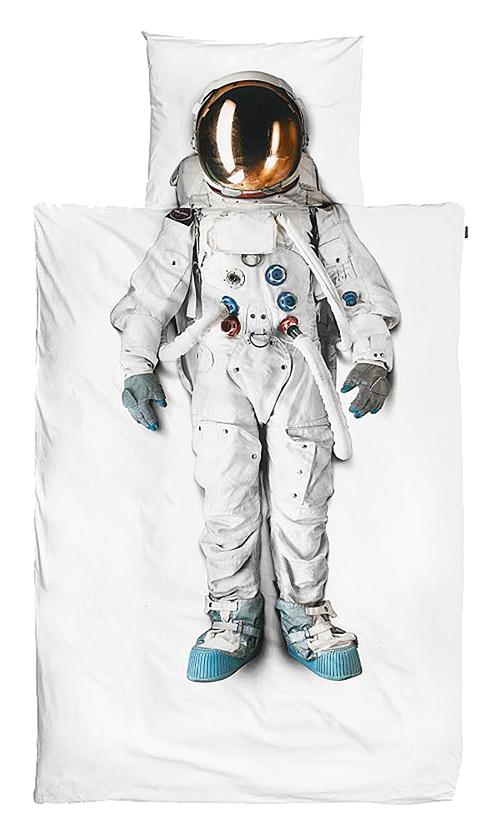 Купить Постельное белье Астронавт (200*220) в интернет магазине дизайнерской мебели и аксессуаров для дома и дачи