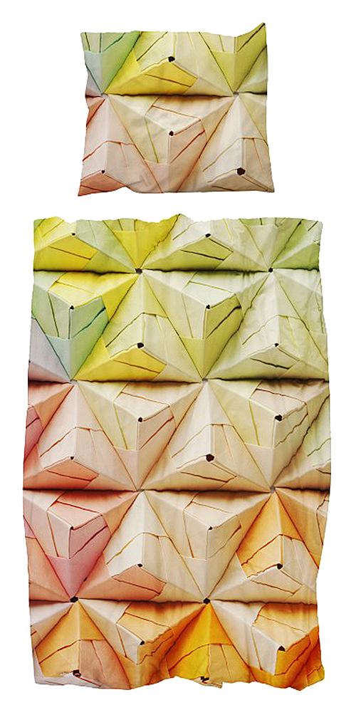 Купить Постельное белье Оригами разноцветный (150*200) в интернет магазине дизайнерской мебели и аксессуаров для дома и дачи