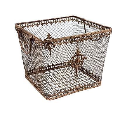Купить Металлическая корзина Верниз Большая в интернет магазине дизайнерской мебели и аксессуаров для дома и дачи