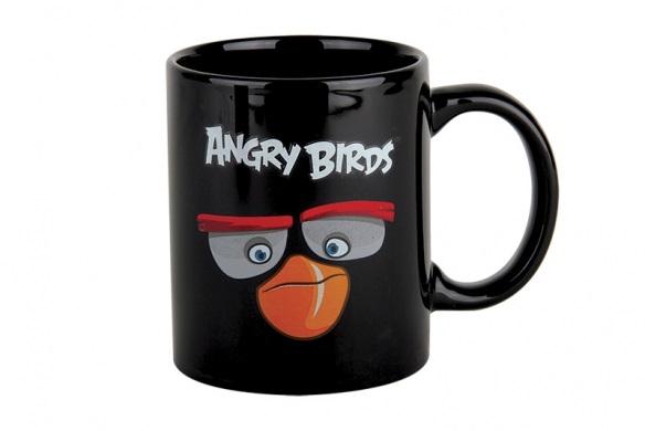 Купить Кружка Angry Birds Movie Black 340 мл в интернет магазине дизайнерской мебели и аксессуаров для дома и дачи