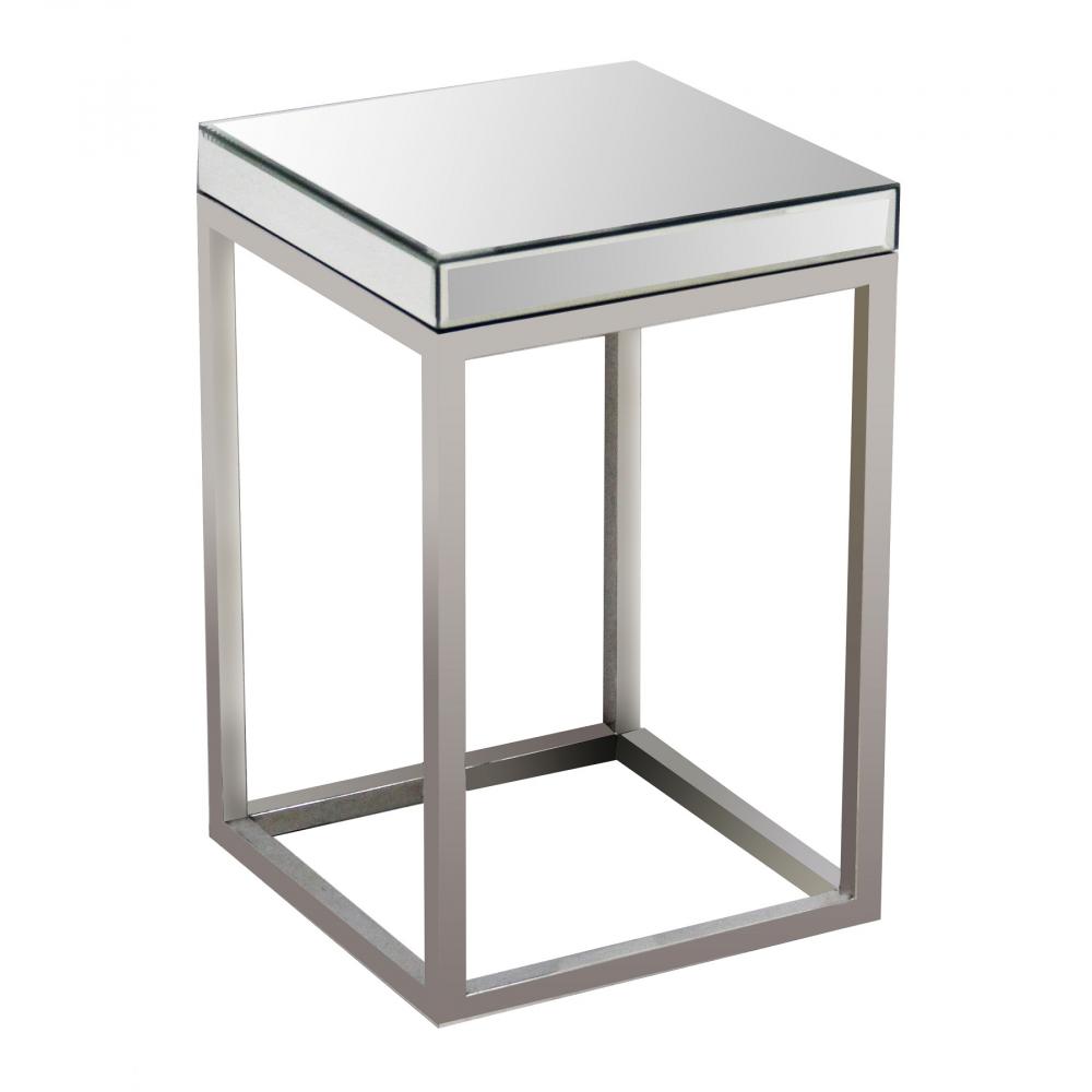 Зеркальный кофейный столик Quadrato