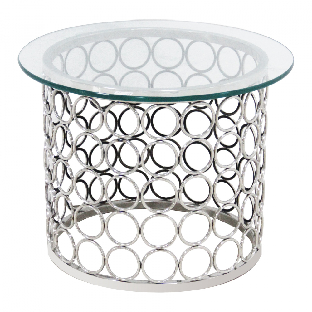 Зеркальный кофейный столик Tempo DG-HOME Основание выполнено из нержавеющей стали