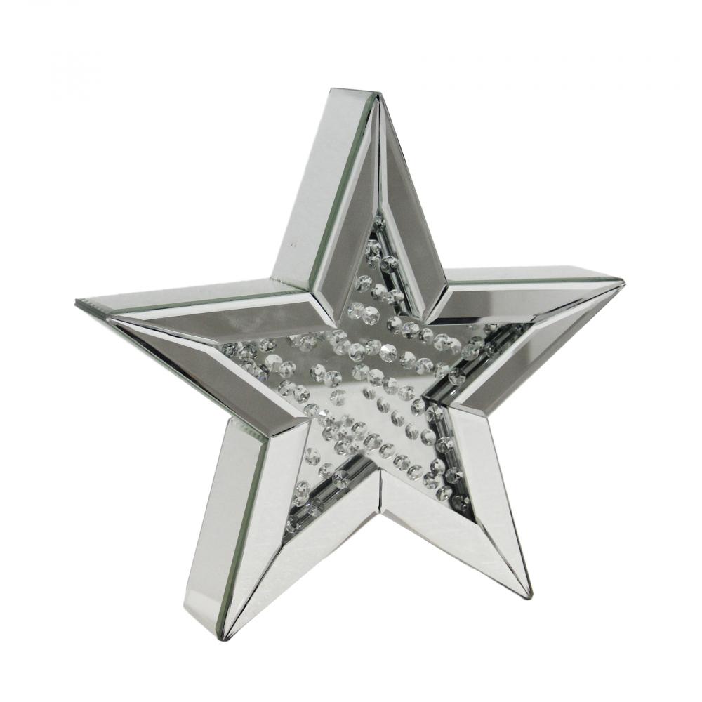 Декоративная зеркальная звезда Большая