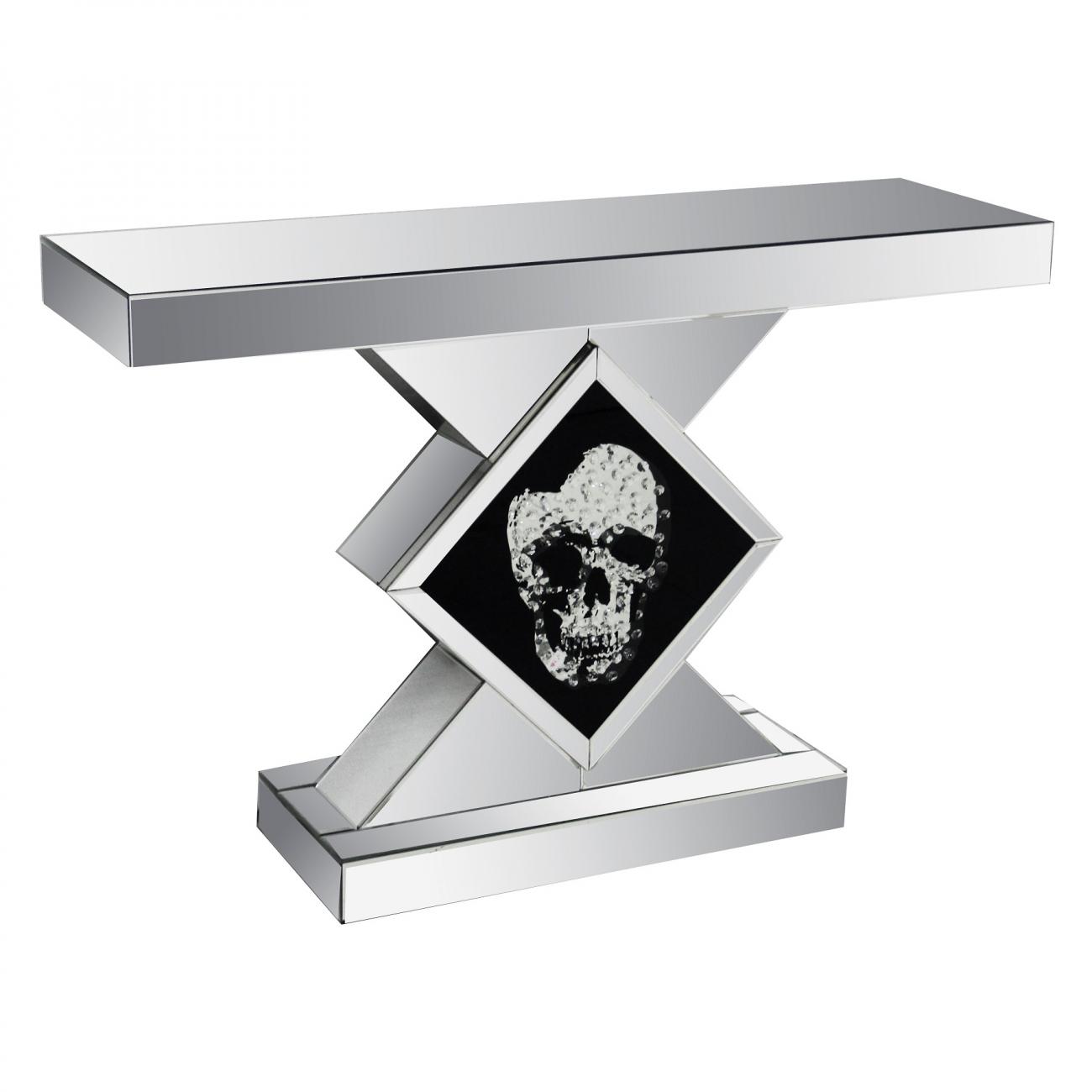 Купить Зеркальная консоль Череп в интернет магазине дизайнерской мебели и аксессуаров для дома и дачи