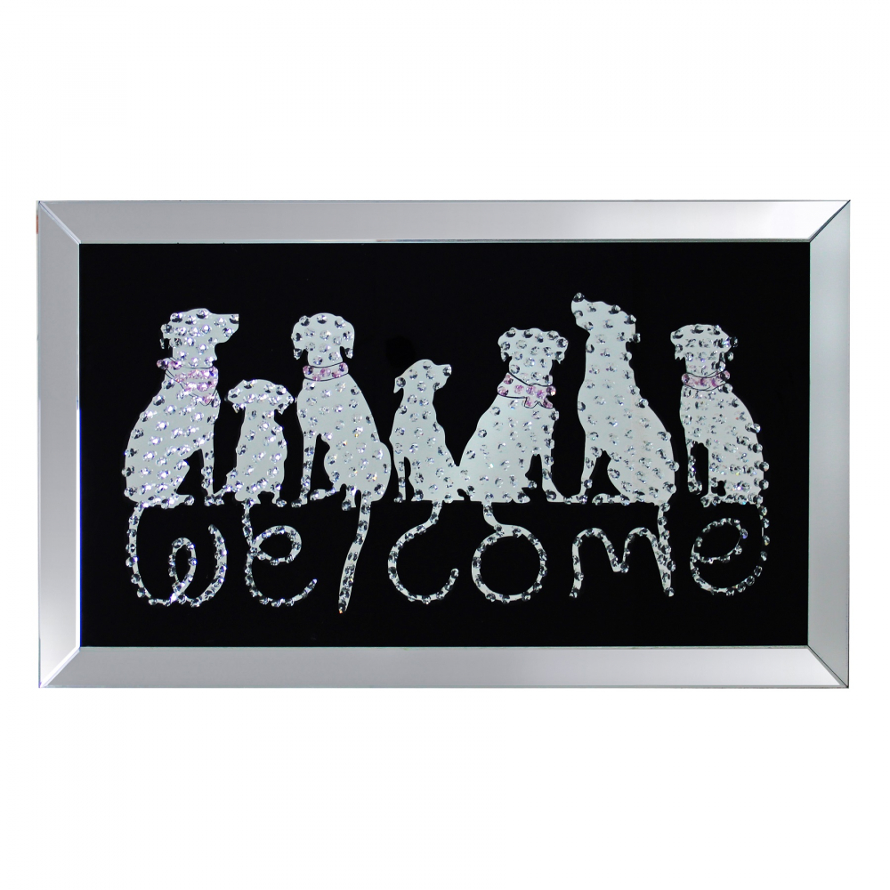 Постер декоративный Welcome DG-HOME