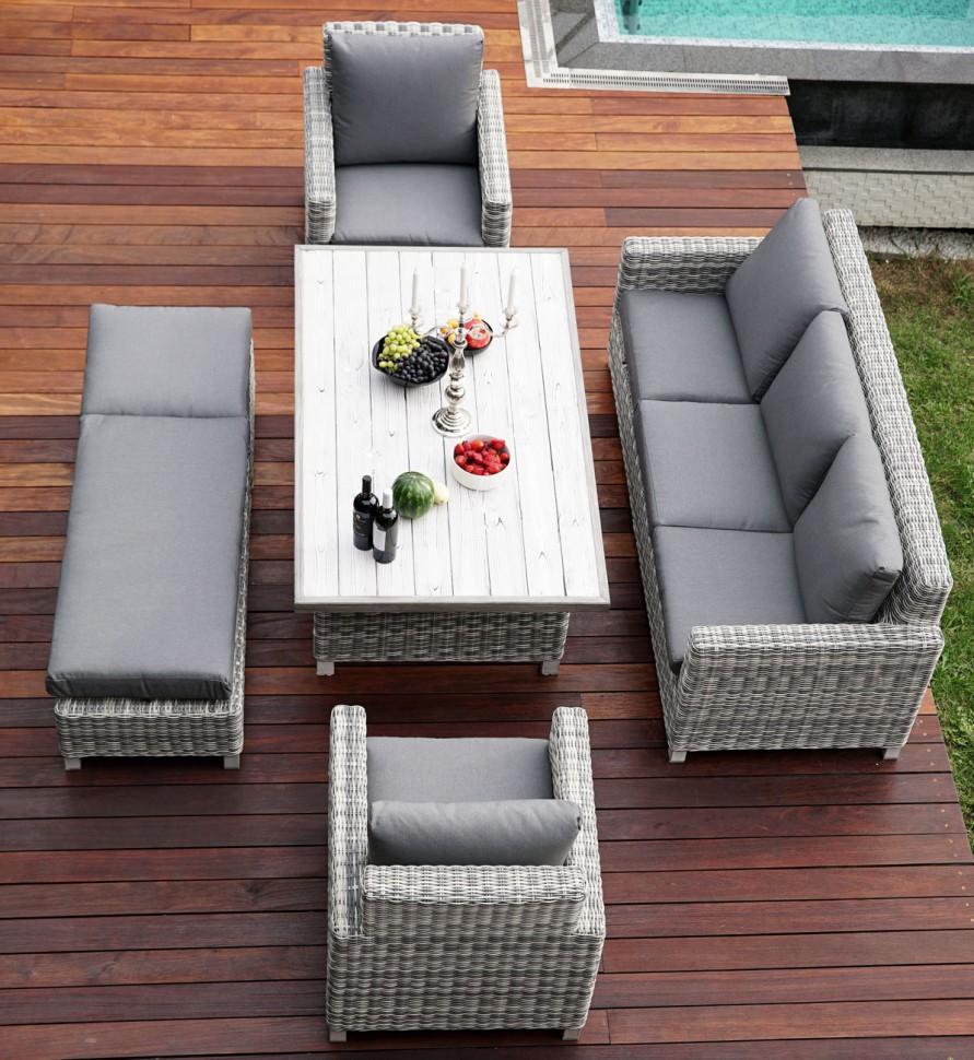 Купить Комплект мебели из искусственного ротанга БАЛИ в интернет магазине дизайнерской мебели и аксессуаров для дома и дачи