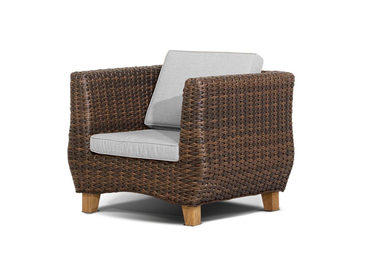Купить Кресло Нола Тёмно-Коричневое в интернет магазине дизайнерской мебели и аксессуаров для дома и дачи