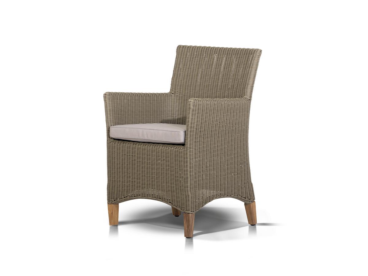 Купить Кресло Пестум Светло-Серое с серой подушкой в интернет магазине дизайнерской мебели и аксессуаров для дома и дачи