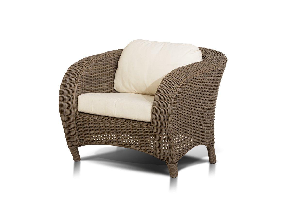 Купить Кресло Ривьера Коричневое в интернет магазине дизайнерской мебели и аксессуаров для дома и дачи