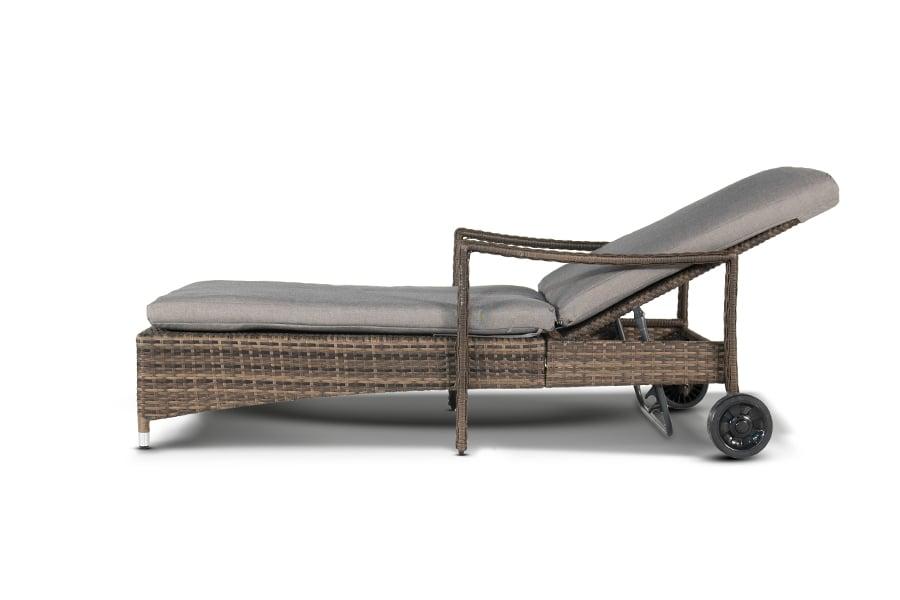 Купить Шезлонг Парма с колесиками в интернет магазине дизайнерской мебели и аксессуаров для дома и дачи