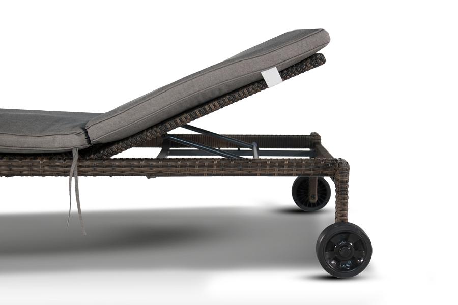 Купить Шезлонг Пиза Тёмно-Коричневый в интернет магазине дизайнерской мебели и аксессуаров для дома и дачи