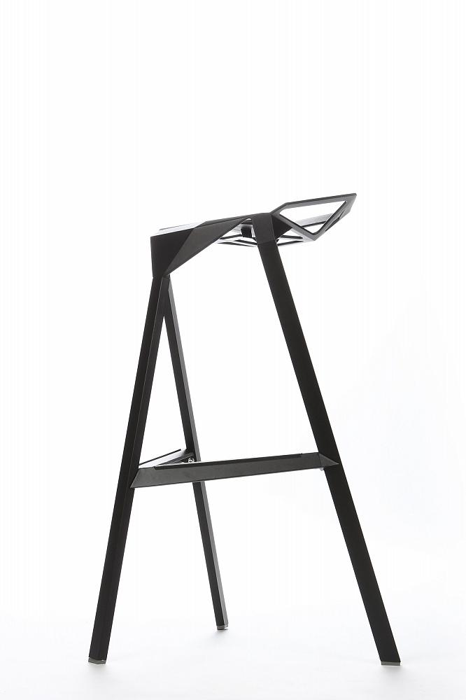 Барный стул One черный