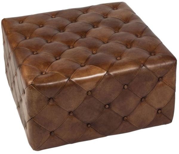 Купить Пуф Hara large light brown в интернет магазине дизайнерской мебели и аксессуаров для дома и дачи