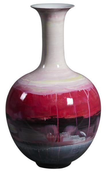 Купить Ваза настольная Red Dawn tall в интернет магазине дизайнерской мебели и аксессуаров для дома и дачи