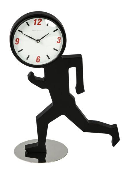 Купить Часы настольные UOMINO Black / 1717 T в интернет магазине дизайнерской мебели и аксессуаров для дома и дачи