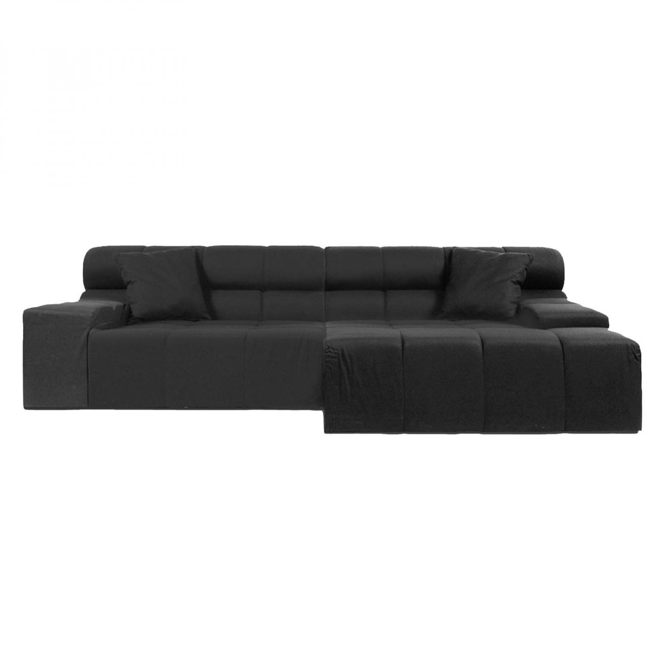 Купить Диван Tufty-Time Sofa Чёрная Шерсть в интернет магазине дизайнерской мебели и аксессуаров для дома и дачи