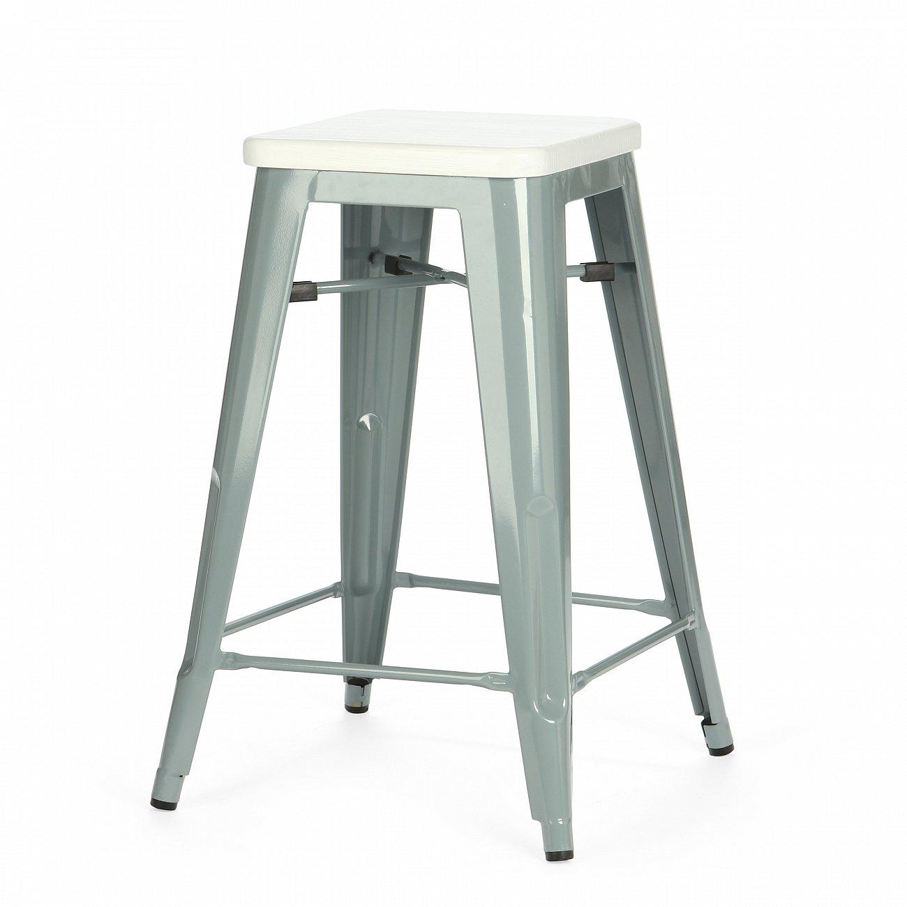 Купить Барный стул Marais Color Серый в интернет магазине дизайнерской мебели и аксессуаров для дома и дачи
