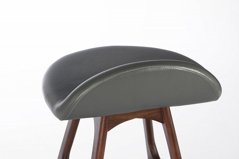 Барный стул Buch 2 серый