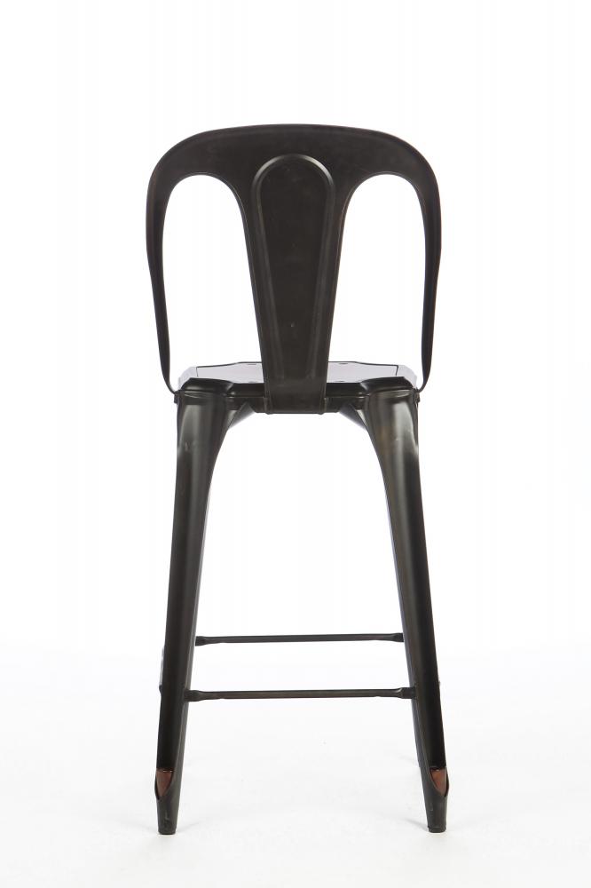 Барный стул Marais с деревянным сиденьем черное