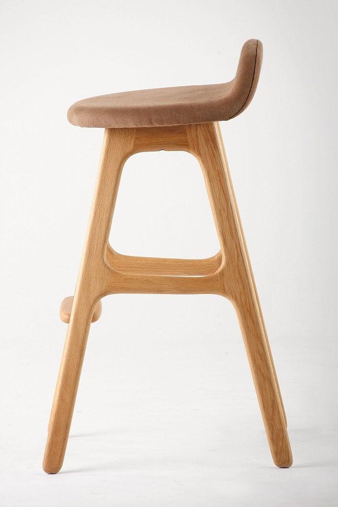 Барный стул Buch 2 коричневый