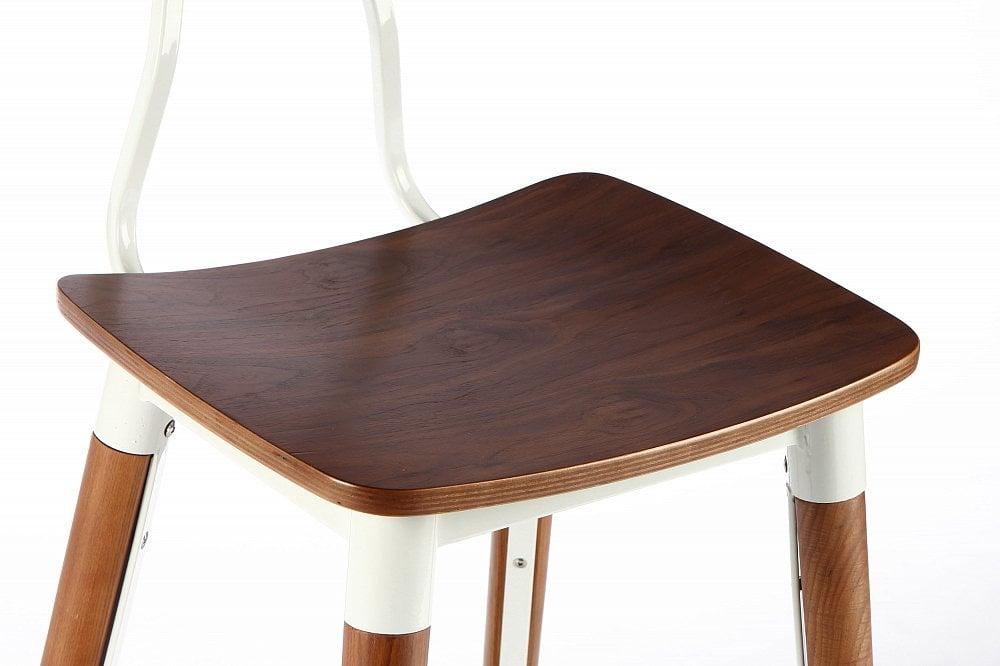 Полубарный стул Copine коричневый