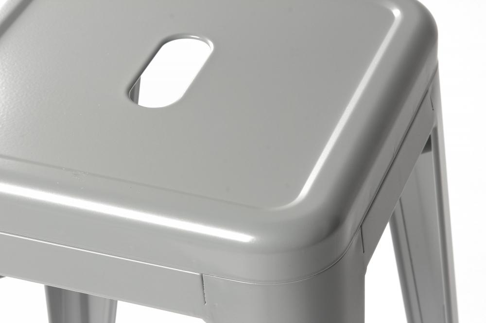 Полубарный стул MC-010 Серый