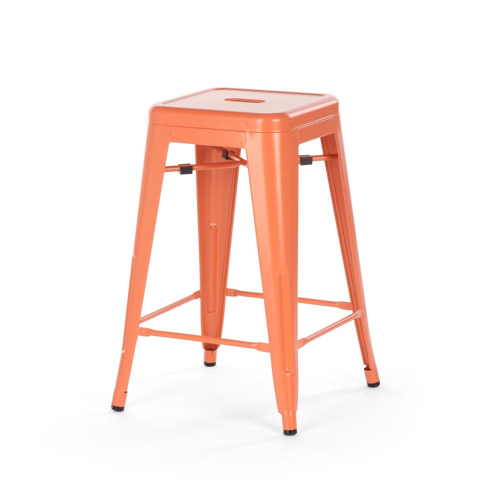 Полубарный стул MC-010 Оранжевый