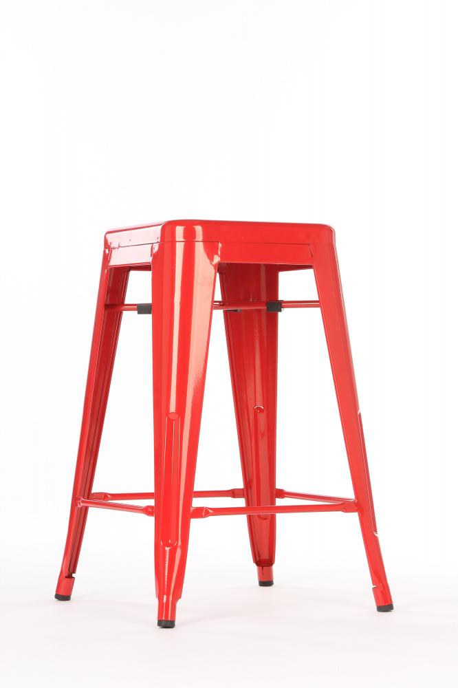 Полубарный стул MC-010 Красный