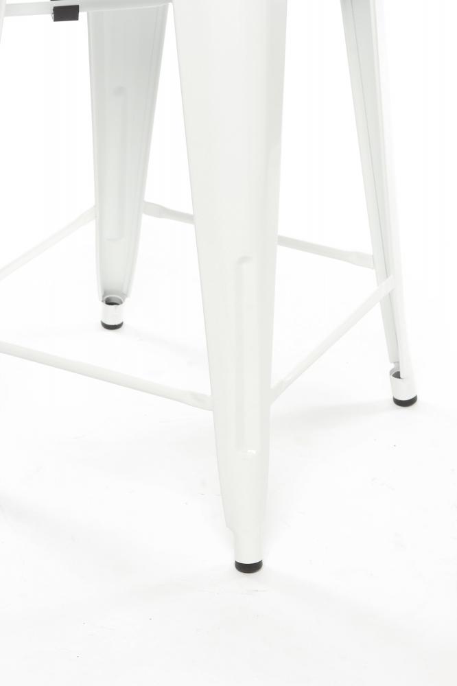 Полубарный стул MC-010  Белый
