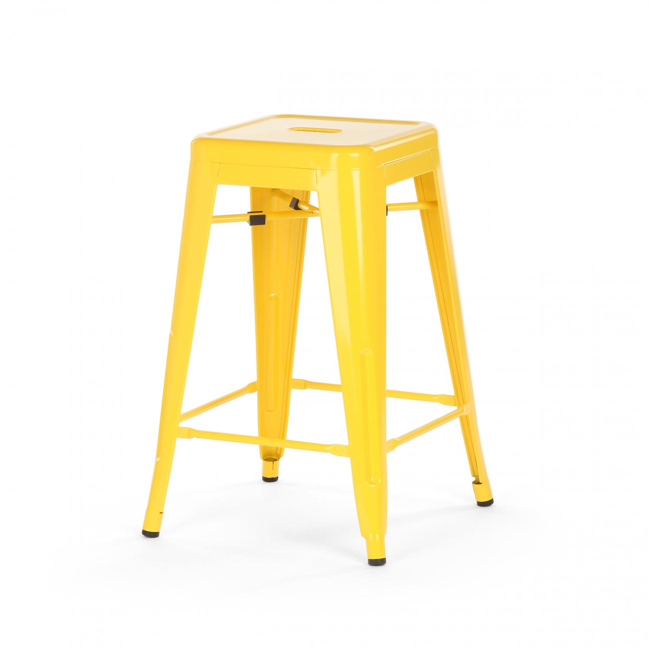 Купить Полубарный Стул Marais Color Жёлтый в интернет магазине дизайнерской мебели и аксессуаров для дома и дачи