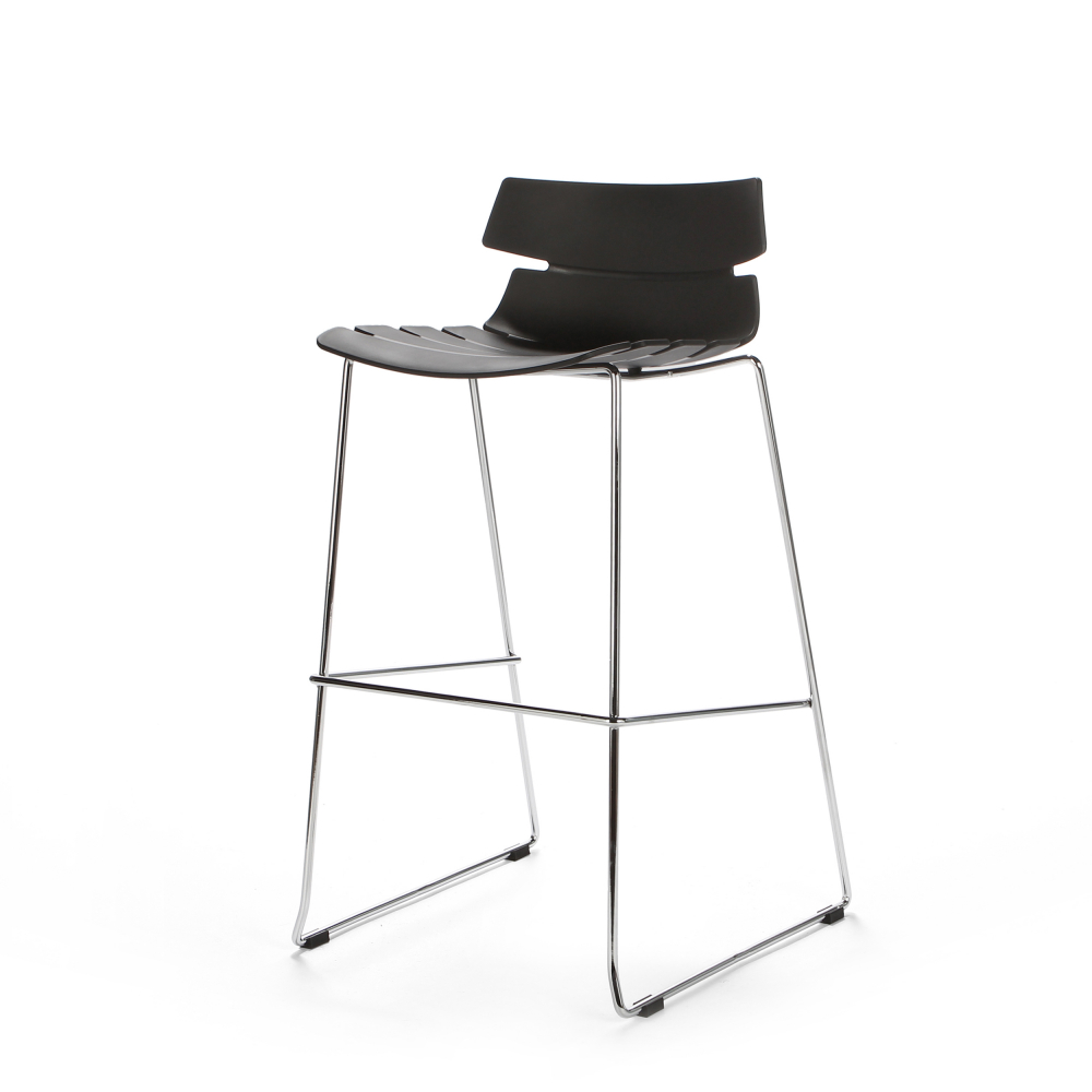 Барный стул Techno черный