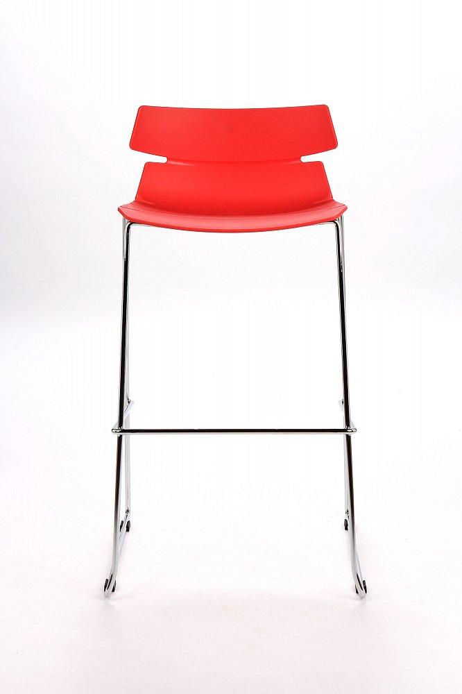 Барный стул Techno красный