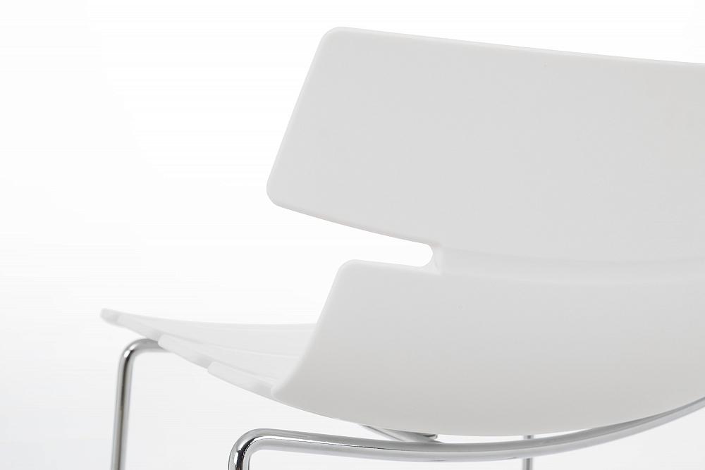 Барный стул Techno белый