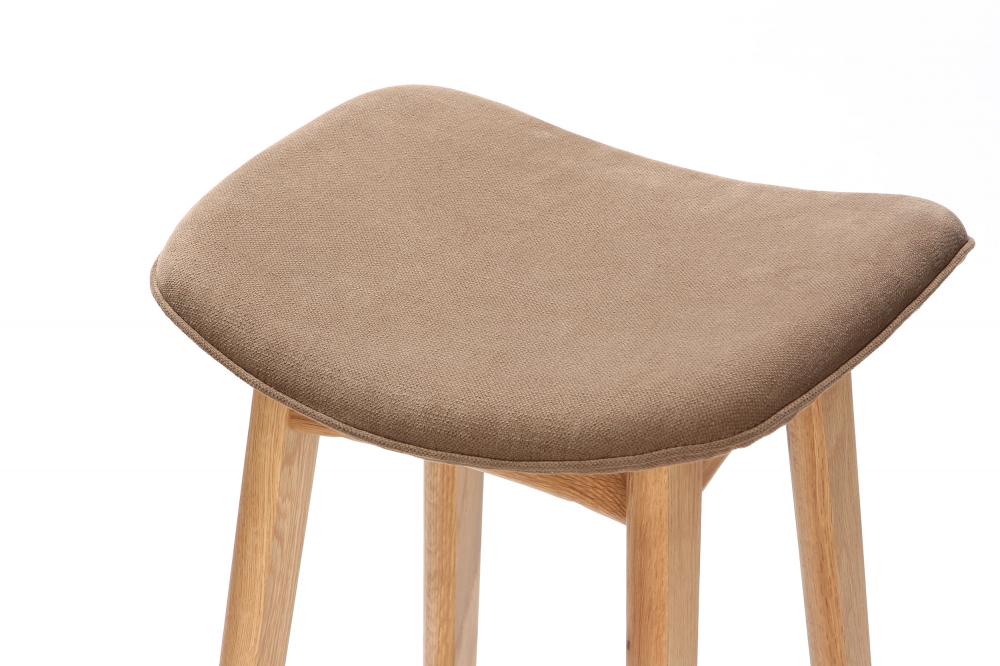 Барный стул Allegra высота 77 бежевый