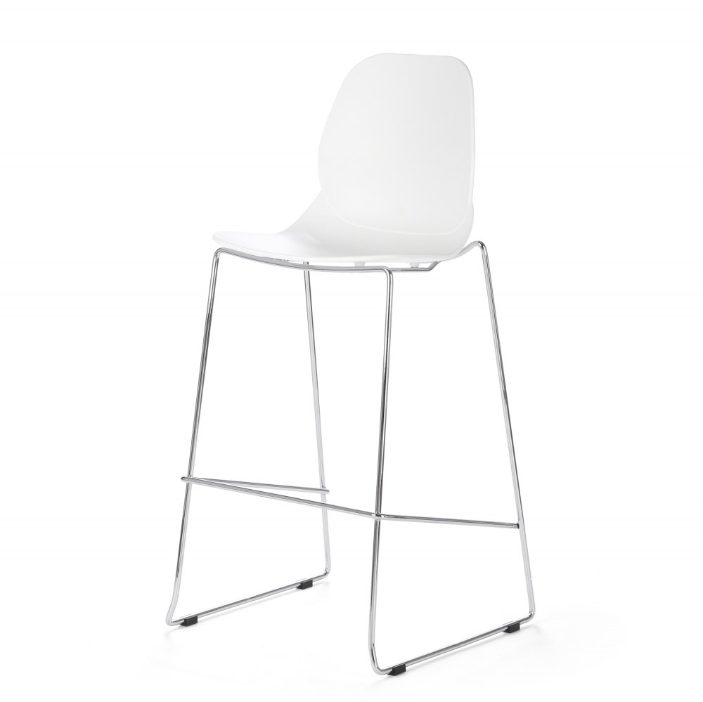 Барный стул Lightweight белый