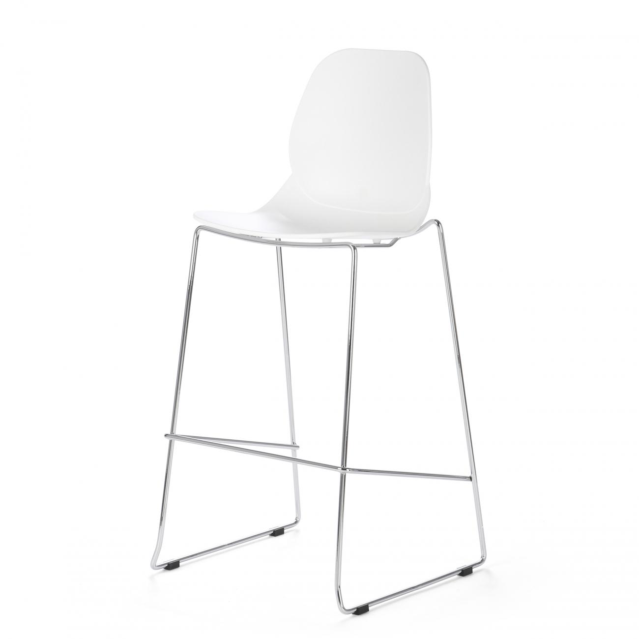 Купить Барный стул Lightweight Белый в интернет магазине дизайнерской мебели и аксессуаров для дома и дачи