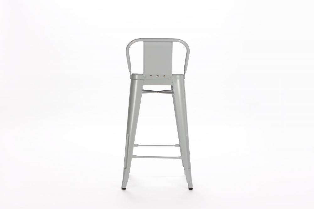 Барный стул Marais Color со спинкой серый