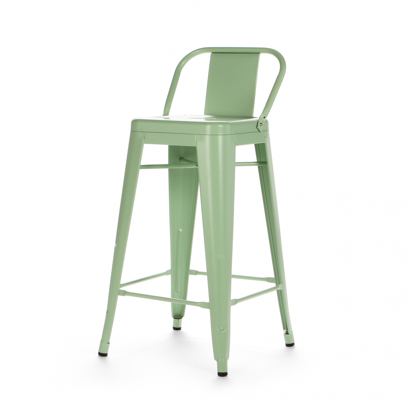 Купить Барный стул Marais Color со спинкой Зелёный в интернет магазине дизайнерской мебели и аксессуаров для дома и дачи