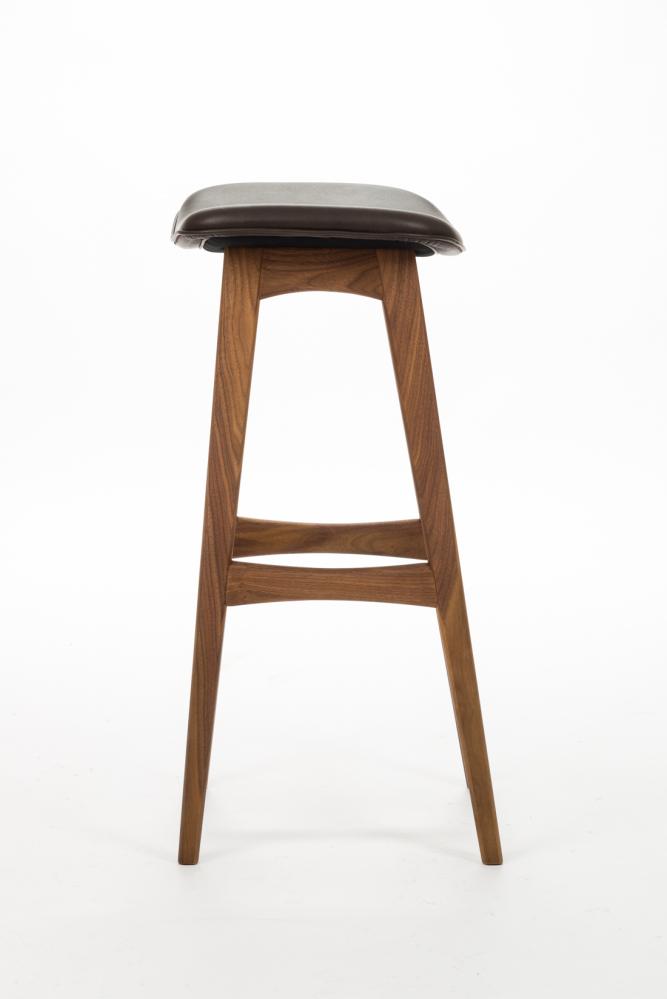Барный стул Allegra высота 77 серый