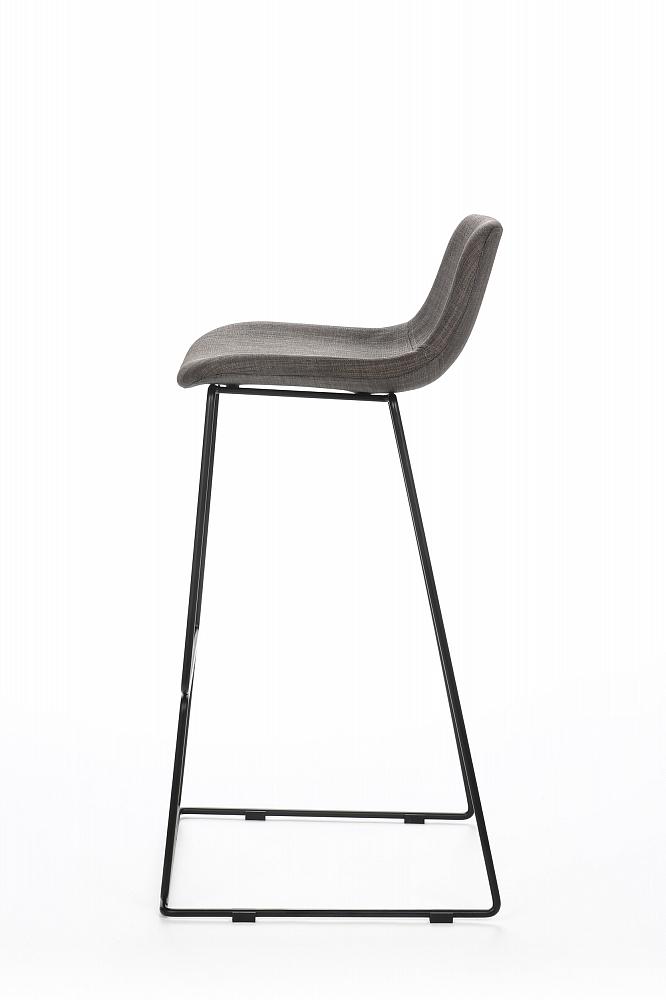 Барный стул Neo с мягкой обивкой Чёрный